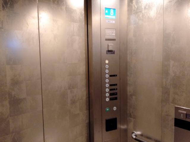 三井ガーデンホテル京都河原町浄教寺エレベーター