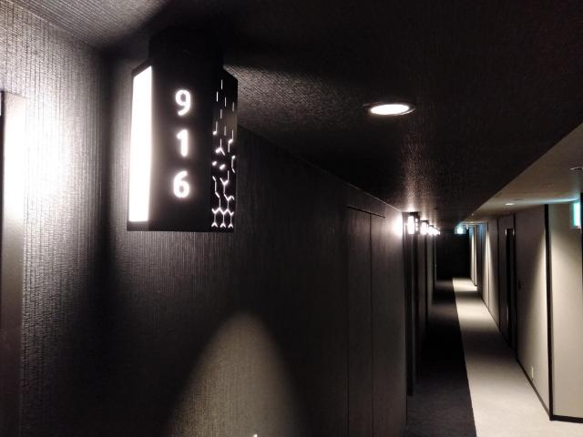 三井ガーデンホテル京都河原町浄教寺客室サイン