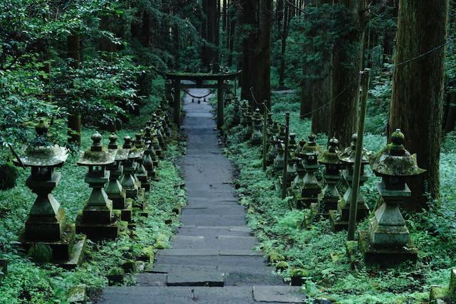 熊本県高森町・上色見熊野座神社