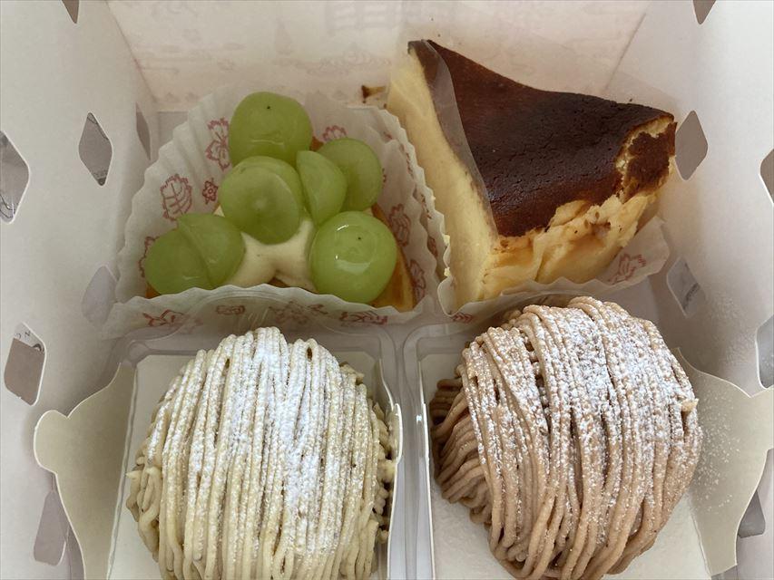 マールブランシュ ロマンの森 ケーキ