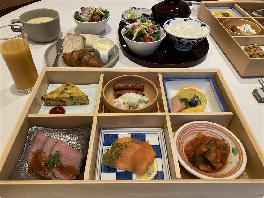 ザ・キタノホテル東京 朝食