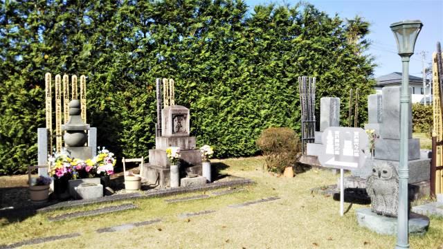 賢治と家族のお墓