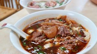 二種類の牛肉麺