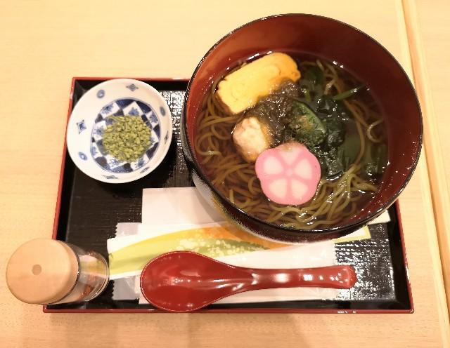 東京都・有明ガーデン「茶寮 伊藤園」おかめ茶そば