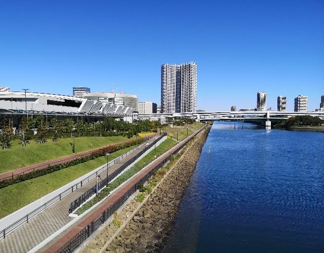 東京都・有明北橋からの眺め