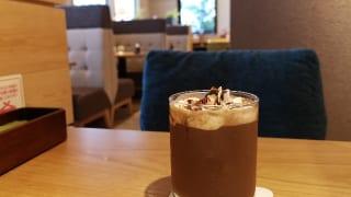 東京都・三鷹市「むさしの森珈琲 三鷹牟礼店」アイスショコラ(氷なし)