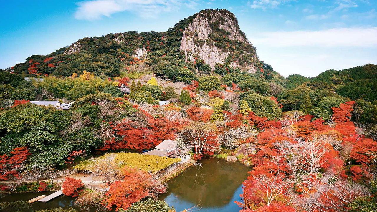 一度は行きたい武雄の秋の絶景!武雄温泉で紅葉まつりを開催【佐賀県】