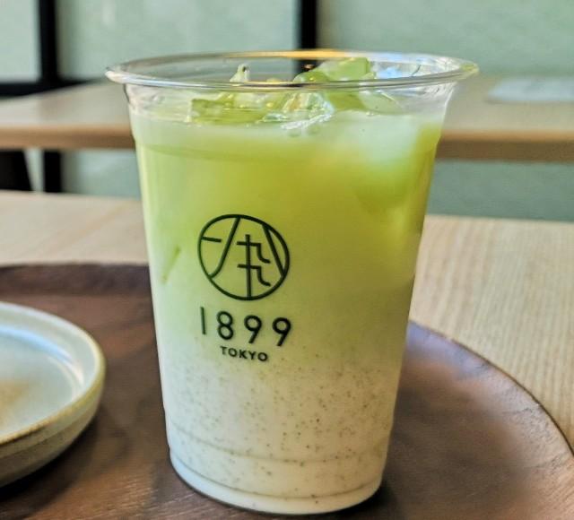 東京・新橋「CHAYA 1899 TOKYO」深蒸し煎茶ラテ