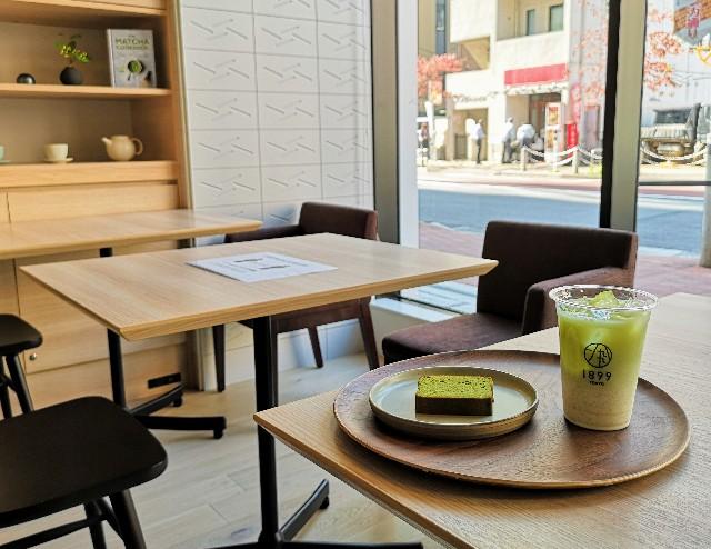 東京・新橋「CHAYA 1899 TOKYO」深蒸し煎茶ラテと酒茶ケーキ