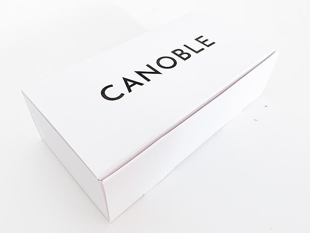 「CANOBLE」とシンプルに書かれた箱が登場