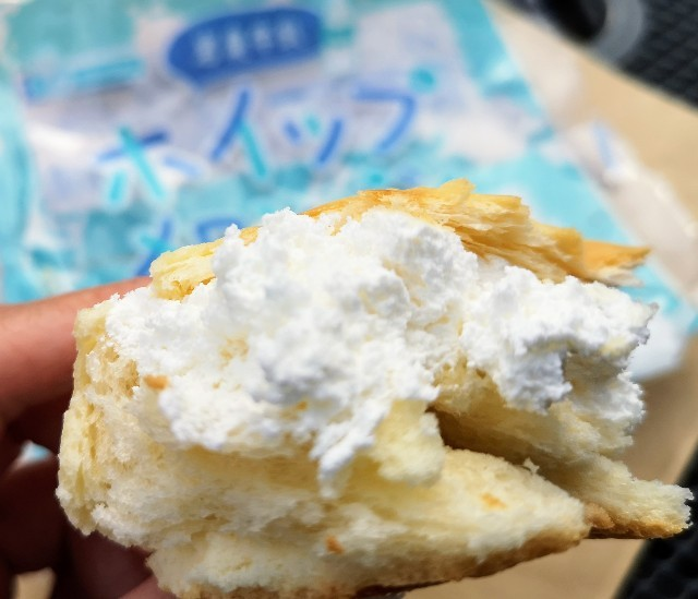 東京・東銀座「いわて銀河プラザ」で購入「岩泉牛乳ホイップメロンパン」4