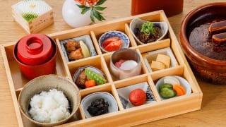 東京・東銀座「SHARI」・料理長のこだわり小鉢御膳(イメージ写真)