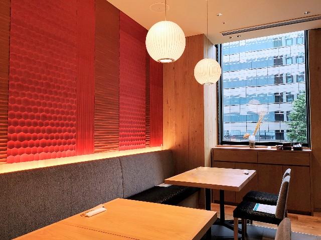 東京・東銀座「SHARI」・店内個室