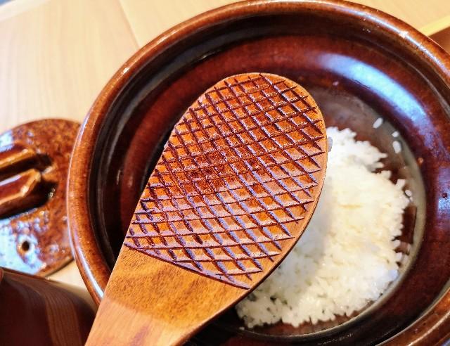 東京・東銀座「SHARI」・御飯の杓文字