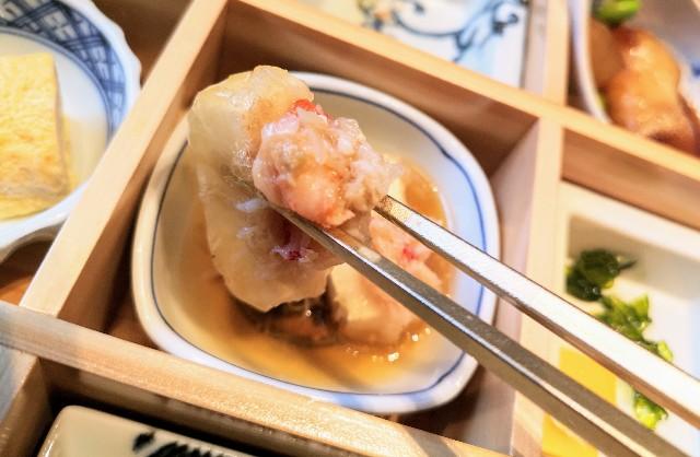 東京・東銀座「SHARI」・料理長のこだわり小鉢御膳(小鉢)