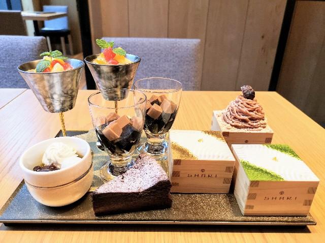 東京・東銀座「SHARI」・デザート7種類