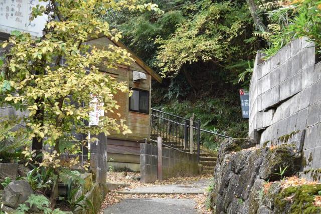 吉崎御坊の入り口