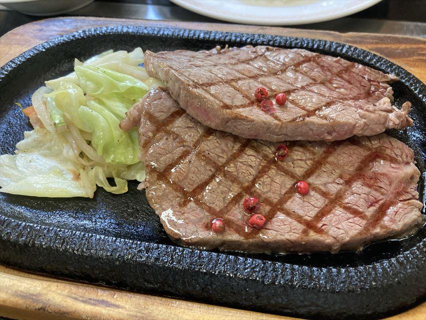 味処うめしま 壱岐牛ステーキ