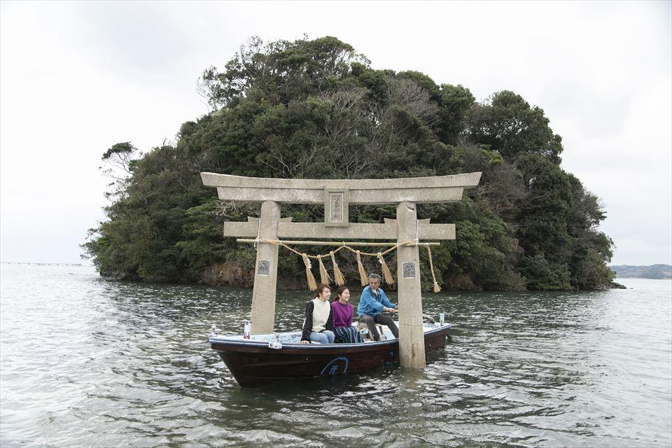 小島神社 手漕ぎ船(伝馬船)