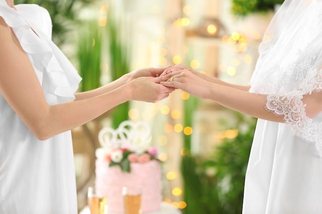 同性結婚式のイメージ