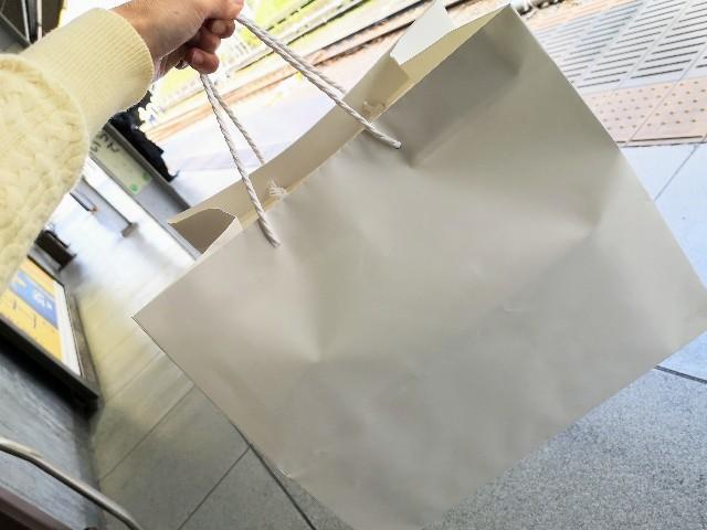 東京・小田急ホテルセンチュリータワー内サザンタワーダイニングのクリスマスケーキ「Pleasant(プレザント)」袋