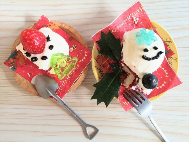東京・小田急ホテルセンチュリータワー内サザンタワーダイニングのクリスマスケーキ「Pleasant(プレザント)」アレンジデコレーション
