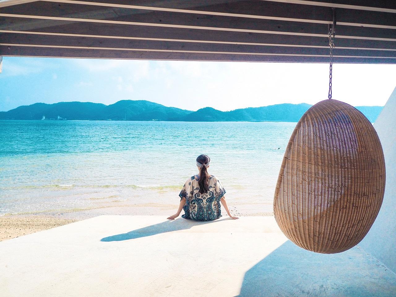 奄美大島の伝泊(でんぱく)宿泊ルポ1~新年の休暇はオンザビーチの極上宿へ