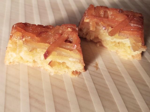 鹿児島・お土産「OIMON」小みかん香る薩摩芋ケーキの断面
