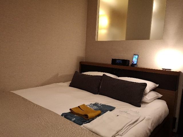 東京・「ホテル龍名館東京」JAPANESE MODERNダブルベッド