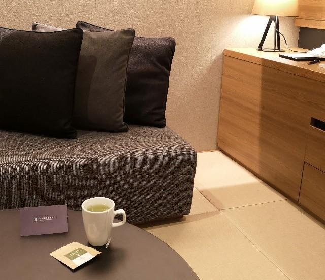 東京・「ホテル龍名館東京」抹茶入り煎茶