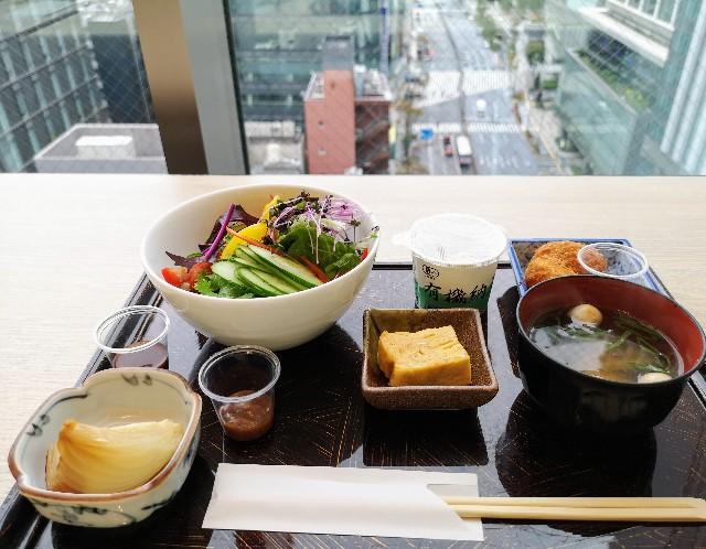 東京・「ホテル龍名館東京」花ごよみ東京(朝食・東京ブッフェ)カウンター席にて