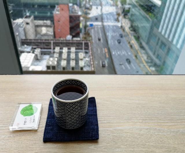 東京・「ホテル龍名館東京」花ごよみ東京(朝食・東京ブッフェ)ほうじ茶