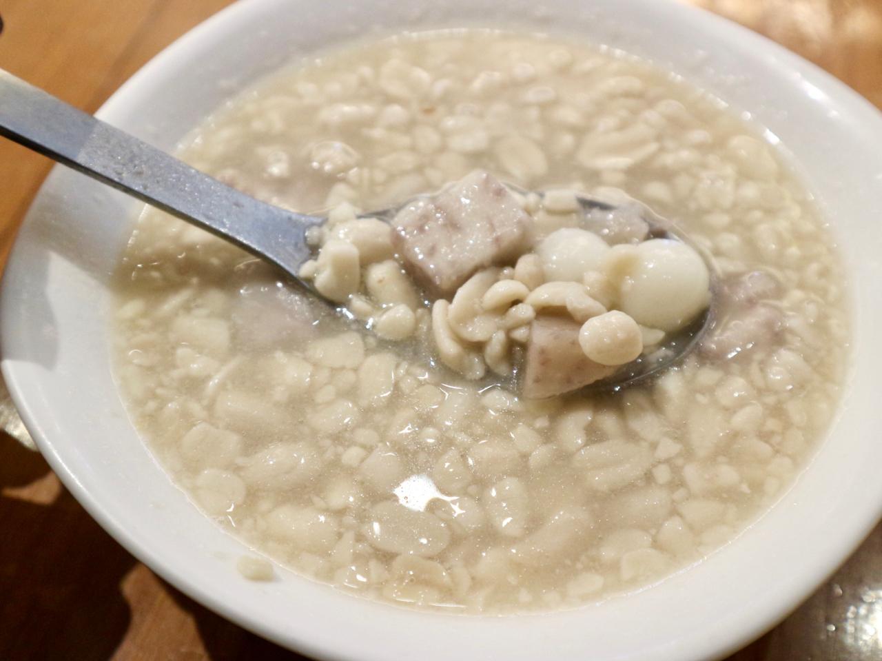 ピーナッツスープ(花生湯)