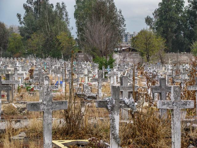チリの墓地