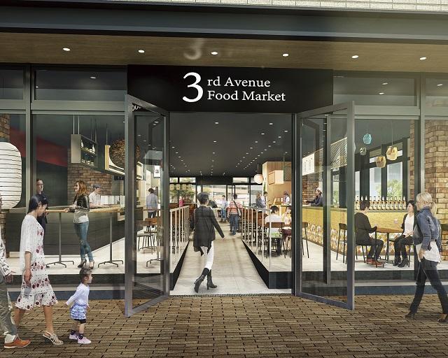 武蔵小杉に「Kosugi 3rd Avenue」がオープン!日本初上陸レストランも