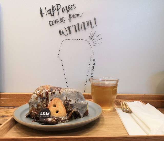 イートイン限定の炙りチーズケーキと町田名産品のバスクチーズケーキを実食!「ルーシー&モニカ」【東京・町田マルイ】