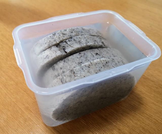 福島県・ふくしまみらいチャレンジプロジェクト「ふくしまの常備食」凍み餅(浸して2時間)