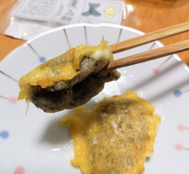 福島県・ふくしまみらいチャレンジプロジェクト「ふくしまの常備食」凍み餅(チーズ)
