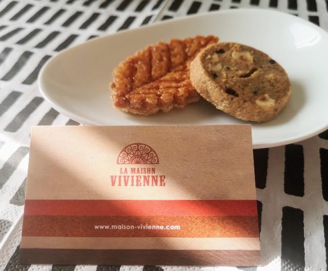 お取り寄せ・LikeSweetsBOX(スイーツ巡り便)福岡「LA MAISON VIVIENNE」ショップカード