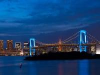 東京都港区レインボーブリッジ