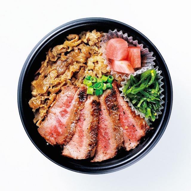 米沢牛ステーキMIX丼