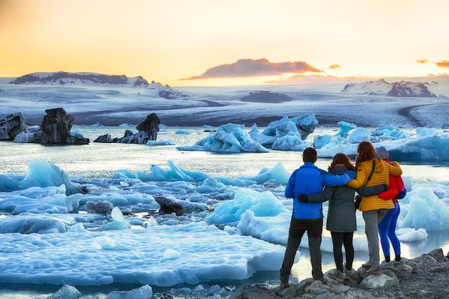 アイスランド・バトナヨークトル国立公園