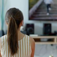 テレビを見るイメージ