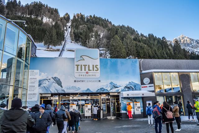 スイス・ティトリス山