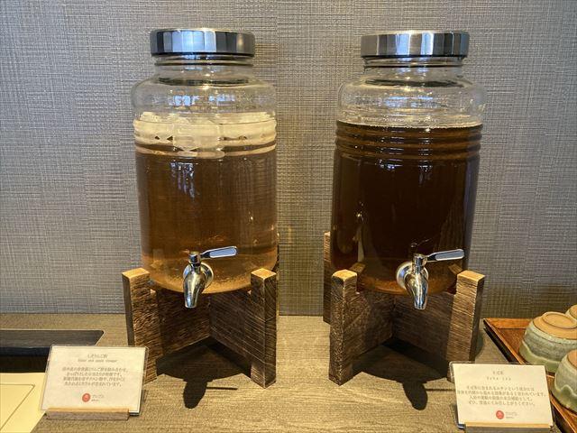 界 アルプス しそりんご酢 そば茶