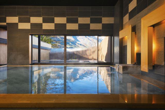 界 アルプス 内風呂