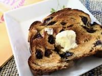 マチダベッカリー」レーズン生食パン(バターのせ)