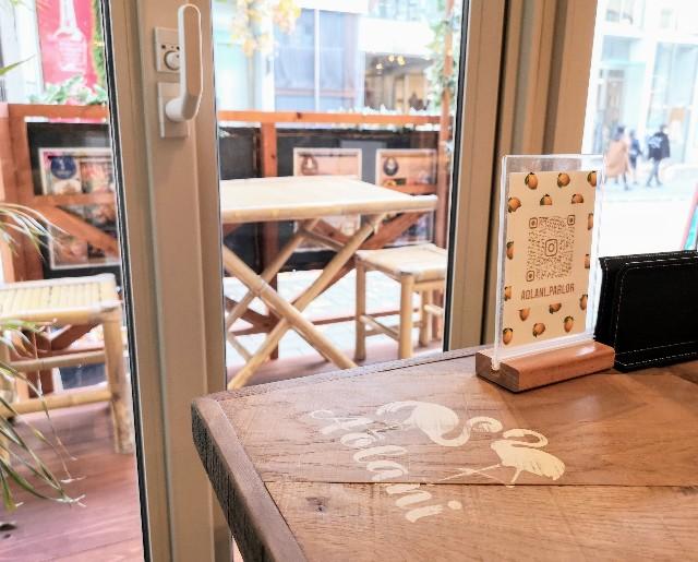 熊本県・熊本市ハワイアンカフェ「Aolani Parlor」窓際席