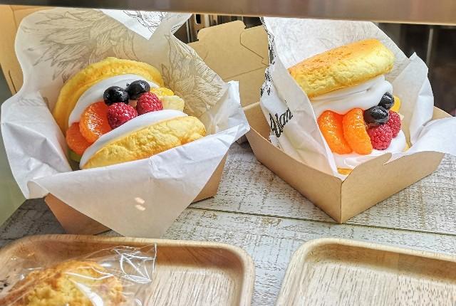 熊本県・熊本市ハワイアンカフェ「Aolani Parlor」ハワイアンパンケーキバーガー