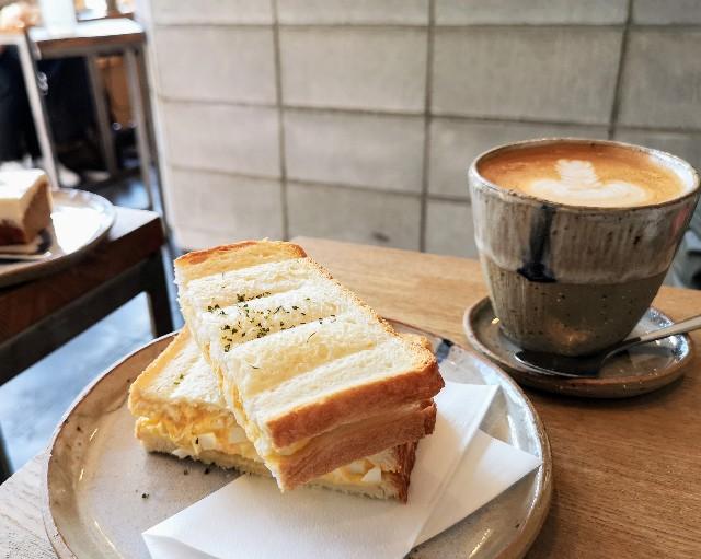 奈良県・奈良市カフェ「ANY B&B + COFFEE」ホットサンドウィッチ
